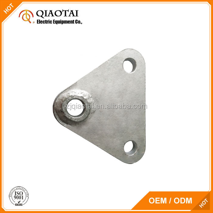 Factory price drop forged steel yoke plate for double stay