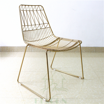 Classic Italy Design Metal Wire Mesh Dining Chair Buy