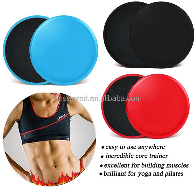 Gliding Discs Exercise Sliders - Core Sliders for A Full Body Workout, Set of 2