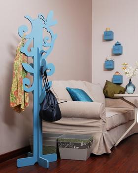 Tree Shaped Coat Rack For Children Room