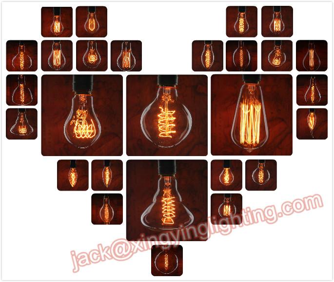 Wholesale decorative carbon filament vintage edison light bulb for ...