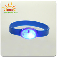 2016 new item novelty blinking wristband, lighted wristband, cool wristbands