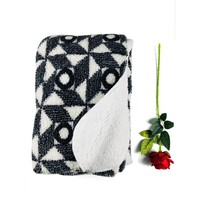 wholesale blanket thick fleece blanket soft sherpa blanket