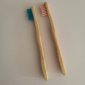 Bamboo Toothbrush Kids Soft Nylon Bristles Promote Responsible Dental Care