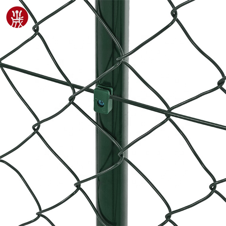 China factory galvanized used chain link fence