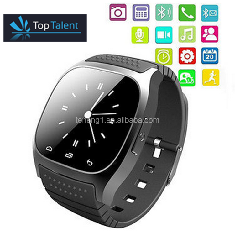 smart watch m26 Android With SMS Remind Pedometer Whatsapp Wearable Devices