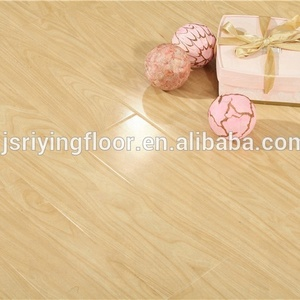 high gloss laminate flooring made in Changzhou with cheap price