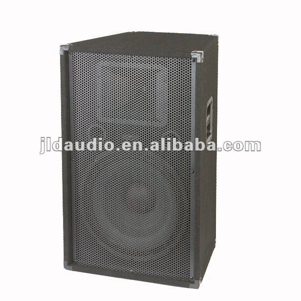 "Compact Single 15"" 2-Way Portable Loudspeaker System"