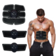 portable muscle stimulator six pads gel abs trainer and slimming abdominal trainer for man and women