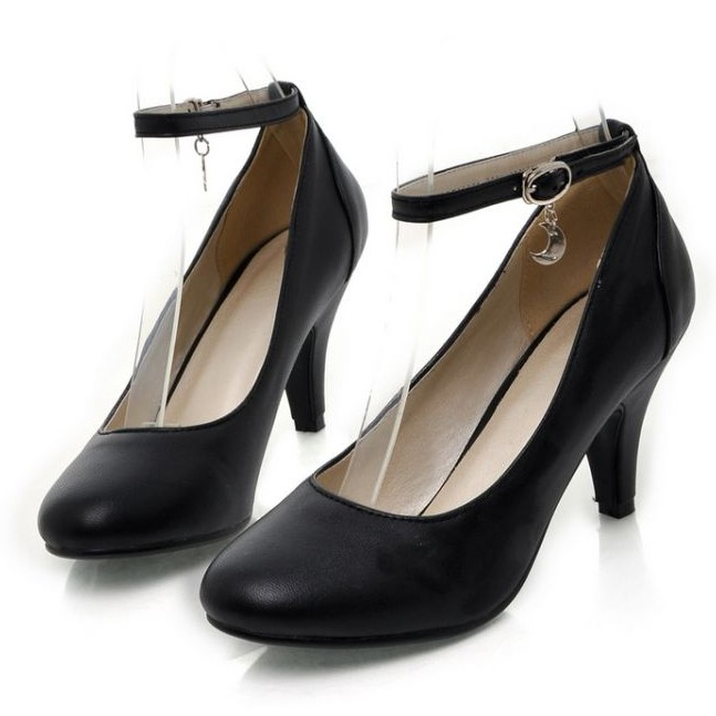 Bow tie plus size 40 - 43 high-heeled shoes 2014 spring thin heels single shoes women's shoes