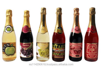 Sparkling wine non alcoholic 6x75cl buy red wine non for Champagne drinks with fruit