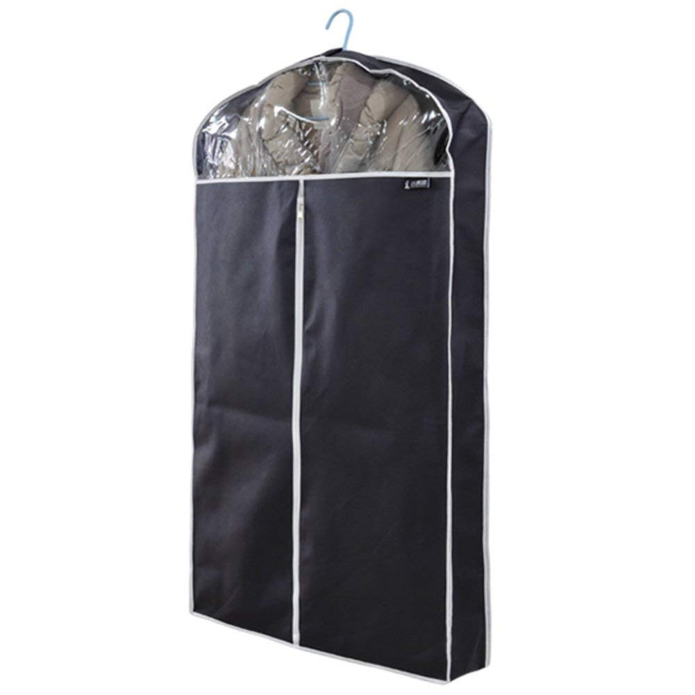 Down jacket dust cover/coat,thick clothes,dust-proof cover/three-dimensional suit cover/dust bag/clothing cover/jacket/transparent garment cover-A 110x60x10cm(43x24x4)