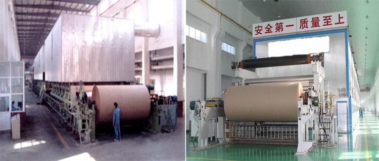 duplex board paper making machine