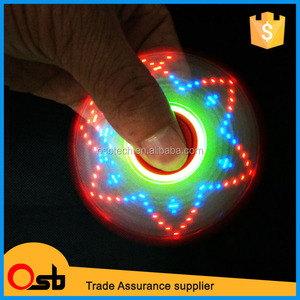 Led Text Fidget Spinner, Led Text Fidget Spinner Suppliers and