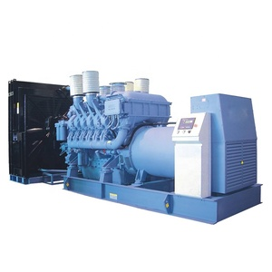 MTU alternator genset 2000 kw diesel power generator