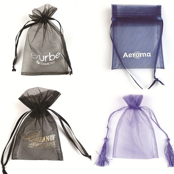 Wholesale/ Customize jewelry, gift, cosmetics organza bags