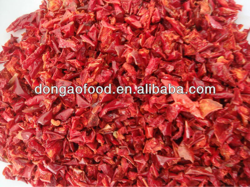 2013 Dried Green Chilli Flakes