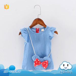 SD-1568G factory price new fashion cute baby clothes baby girl dress