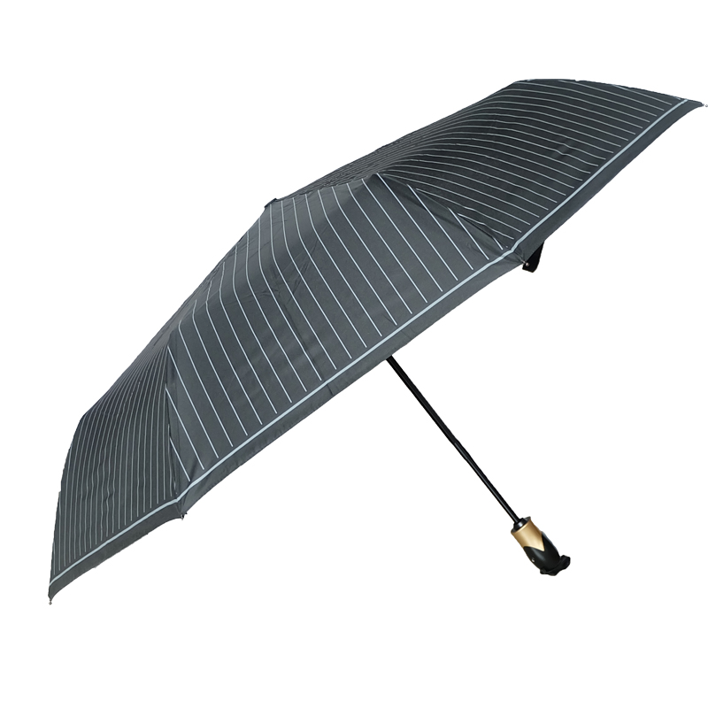 Water Repellent wooden handle PG fabric Umbrella