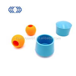 M8/M10 threaded screw fixed silicone rubber feet for equipment