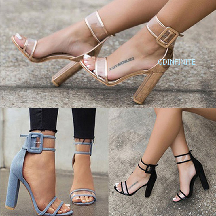 Hot Sale Big Size Sexy Women shoes Gianvito Rossi New buckle <strong>sandals</strong> 2017