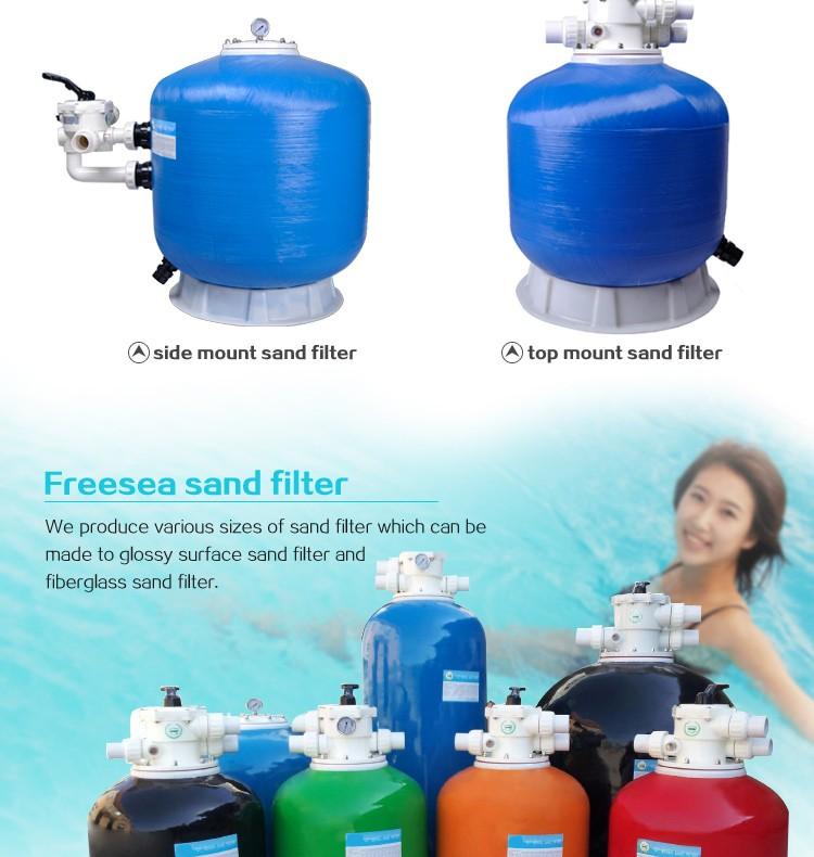Factory Price Bead Filter Swimming Pool Large Sand Filter