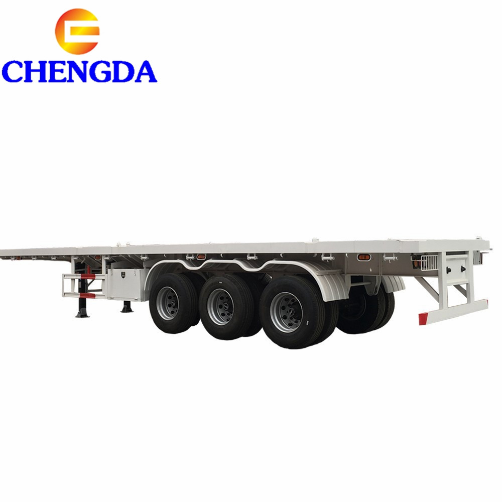 flatbed semi trailer (51)