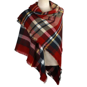 Fashion Multipurpose Winter Acrylic Woven Ladies Blanket Scarf Stoles and Shawls