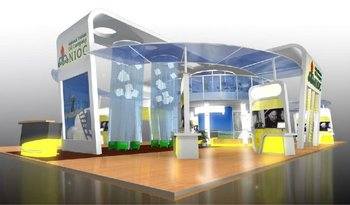 Exhibition Stand Design Concepts : Nioc national iranian oil company exhibition stand booth