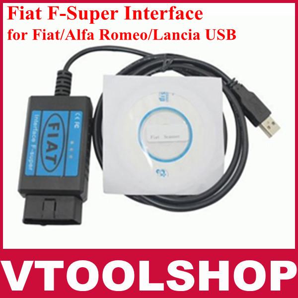 Наиболее профессиональный Fiat сканер, Fiat F - супер интерфейс, Fiat USB сканирования инструмент для Fiat / Alfa Romeo / Lancia USB