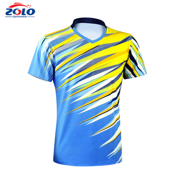 Factory latest style sports wear team running wear