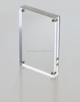 Wholesale Custom Handmade Acrylic Magnetic Sign Holder