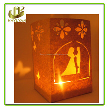Love wishing candle bags, wedding decorative bags party candle bags on sale