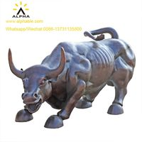 2019 Trendy China Factory Price Wall Street Bull Statue For Sale