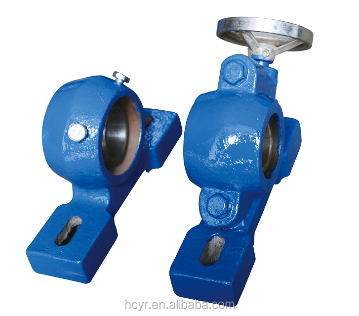 High-technology bearing housing for idler roller