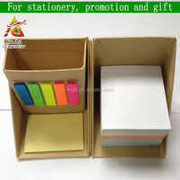 customized notepad writing pad, sticky notes with PET index