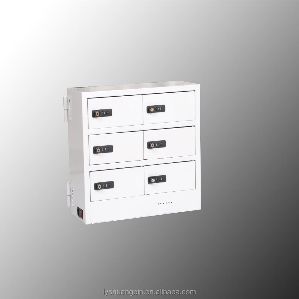 Simple Desktop Type Cell Phone Charging Station Lockers/small ...
