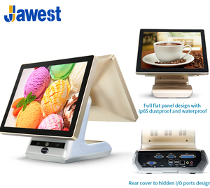 High Quality Restaurant / Retail /cafe store AIO 15 inch Touch Screen POS System