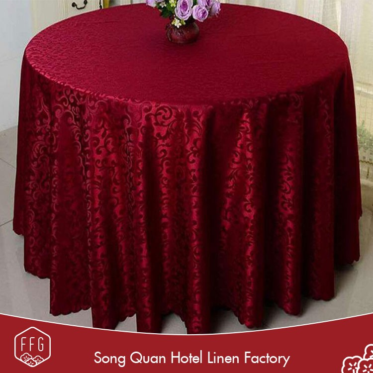 Ffg wholesale custom round heat resistant hotel church table cloth buy church table cloth - Heat resistant table cloth ...