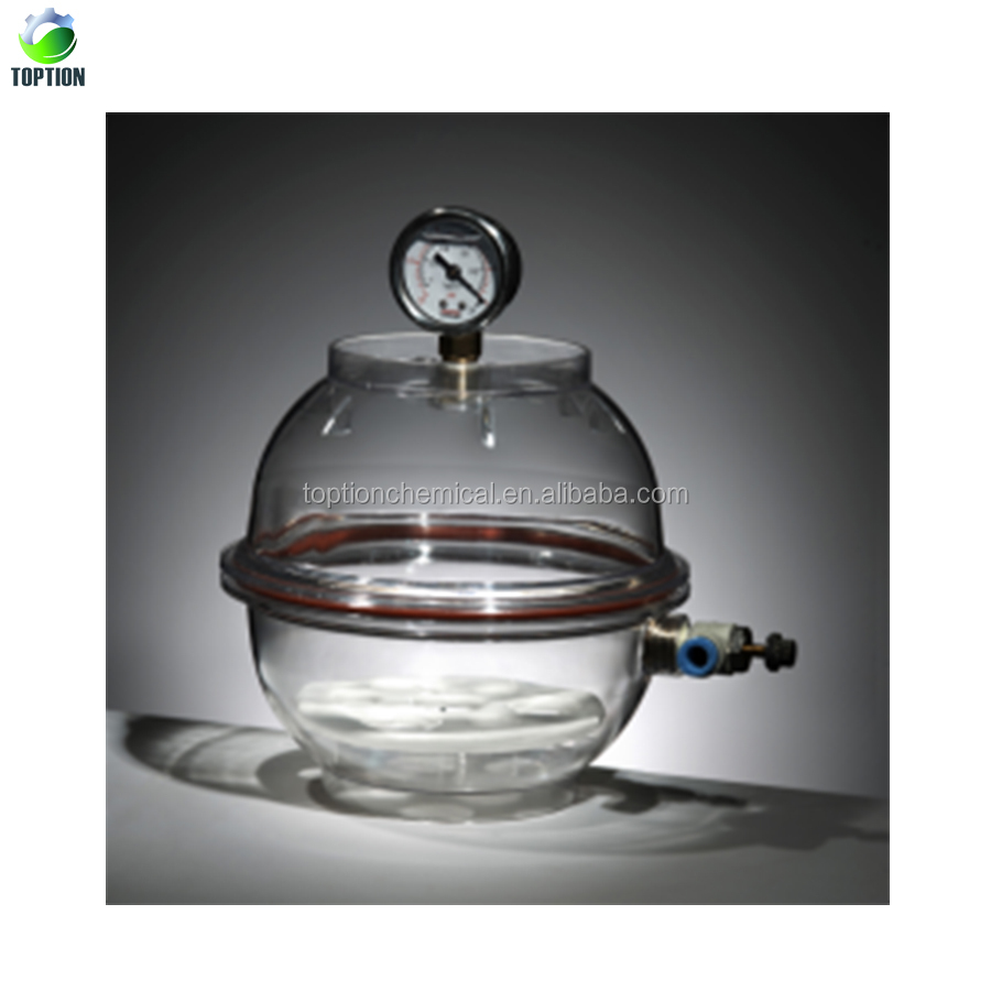 300mm Constant Temperature Electric Heating Vacuum Desiccator, Lab Dessicator Dryer 150mm, Chemistry Laboratory Equipment