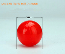 High Quality kids plastic play balls