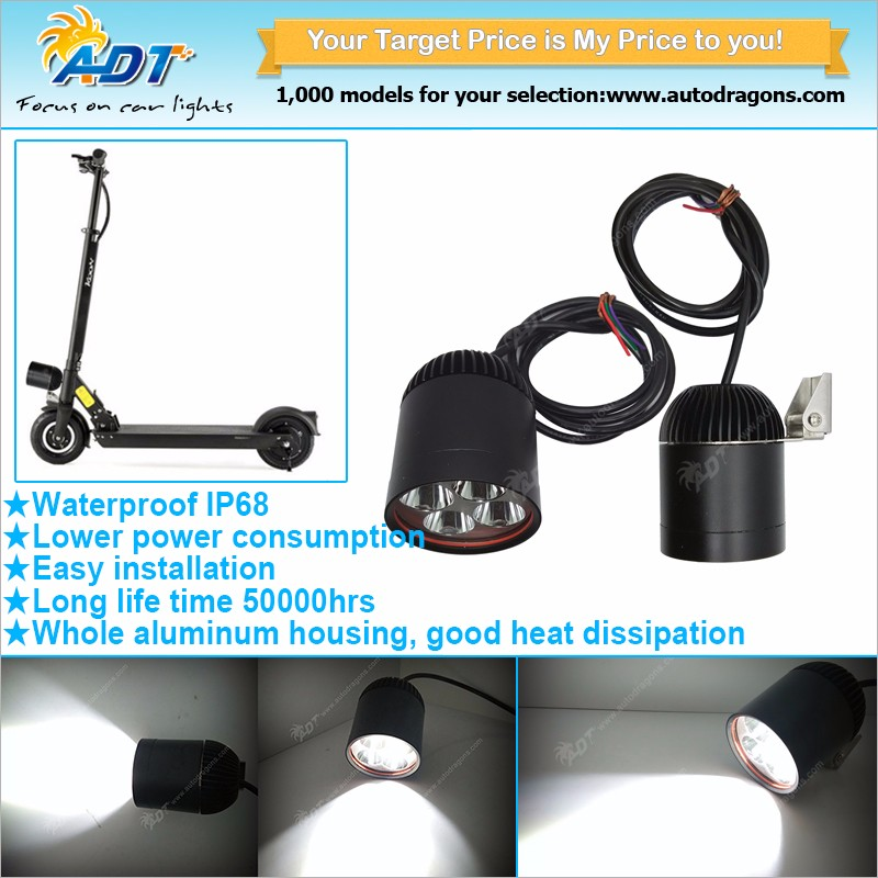 High power 40W CR-EE U2 chip motorbike LED driving light