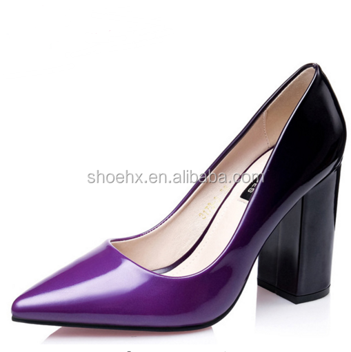 2016 Women Thick Heels Shoes, Pumps Office & Career New Fashion High Heels, Brand Designer Pointed Toe Ladies Office Shoes