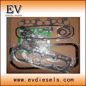 forklift engine 4Y complete gasket kit / full gasket set fit for TOYOTA  overhauling spare parts