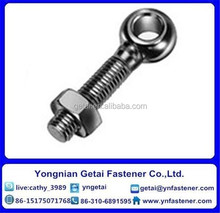 Galvanized Eye bolts DIN 580 Carbon Steel