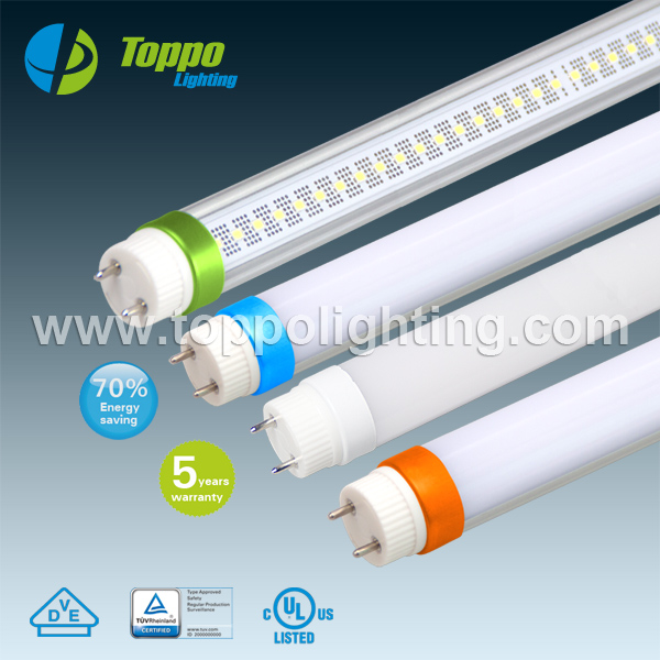 Led Fluorescent Lamp End Caps 25w 2600lm 110lm/w Warm White 3000 ...