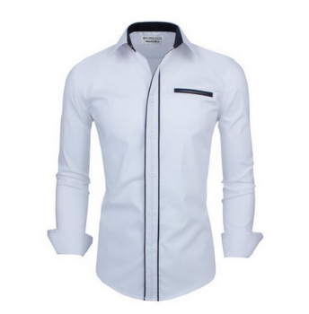 Mens decorated collar mens dress shirts latest fashion designs for ...