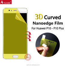 lcd tv main board nanoedge tpu screen protector film for huawei p10