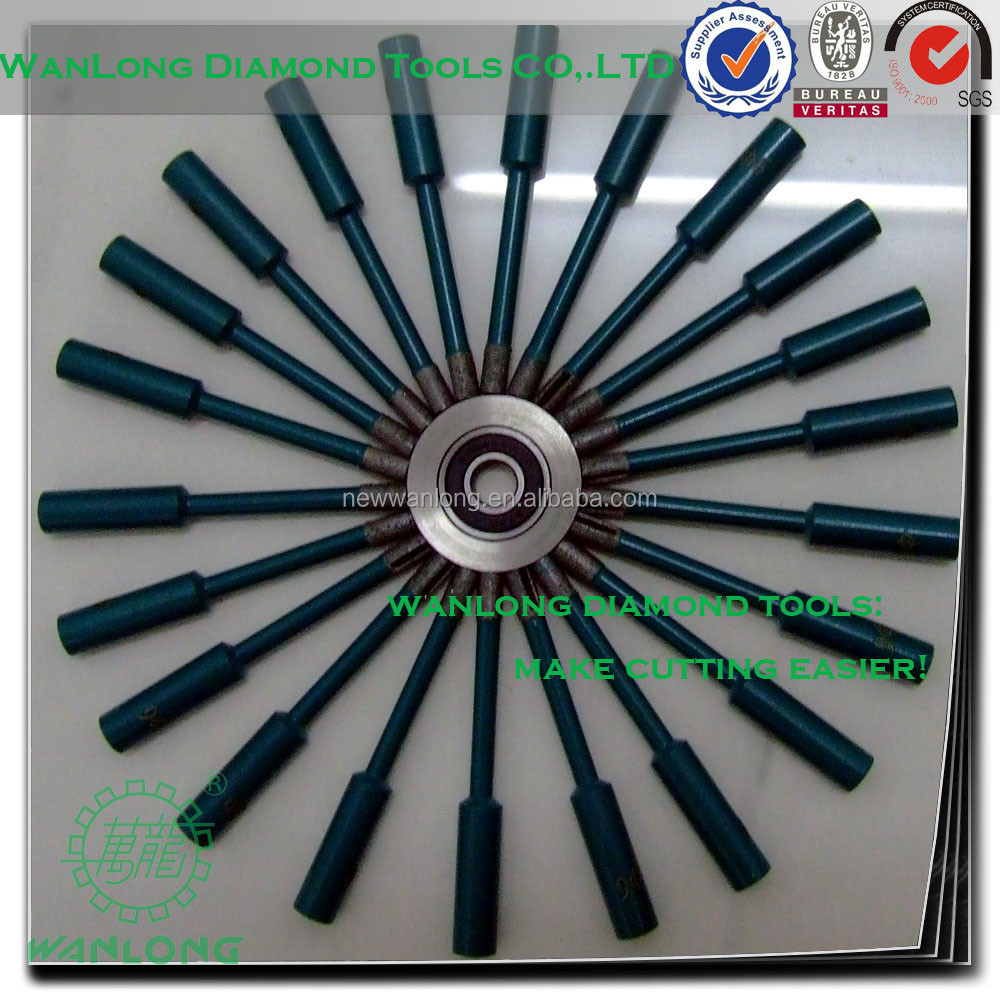 high quality wanlong diamond drill bit nails for stone drilling,natural diamond drill bit for stone and concrete