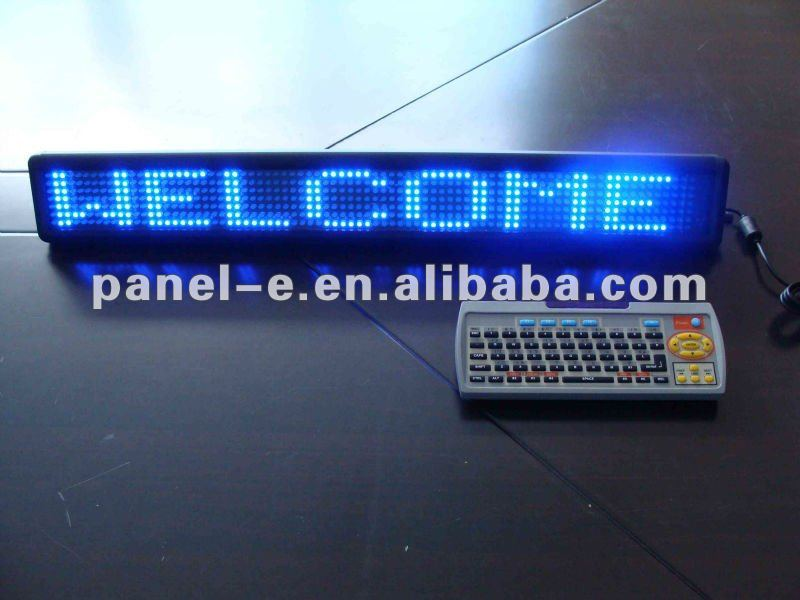 P7.62 indoor LED captions machine,led moving signs images,remote control display